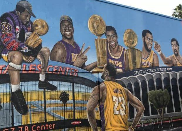 historia de los Lakers