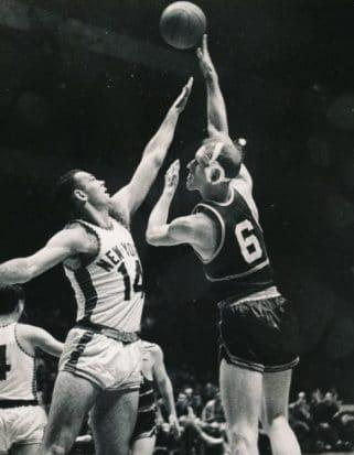 Neil Johnston Philadelphia Warriors