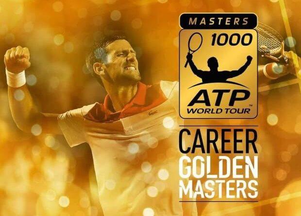 Djokovic Golden Masters 1000