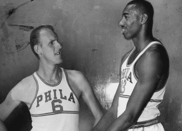 neil johnston y wilt chamberlain