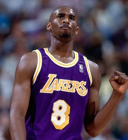 Kobe en su primera temporada en la NBA